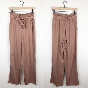 Thread + Supply Paper Bag Waist Pants Terracotta
